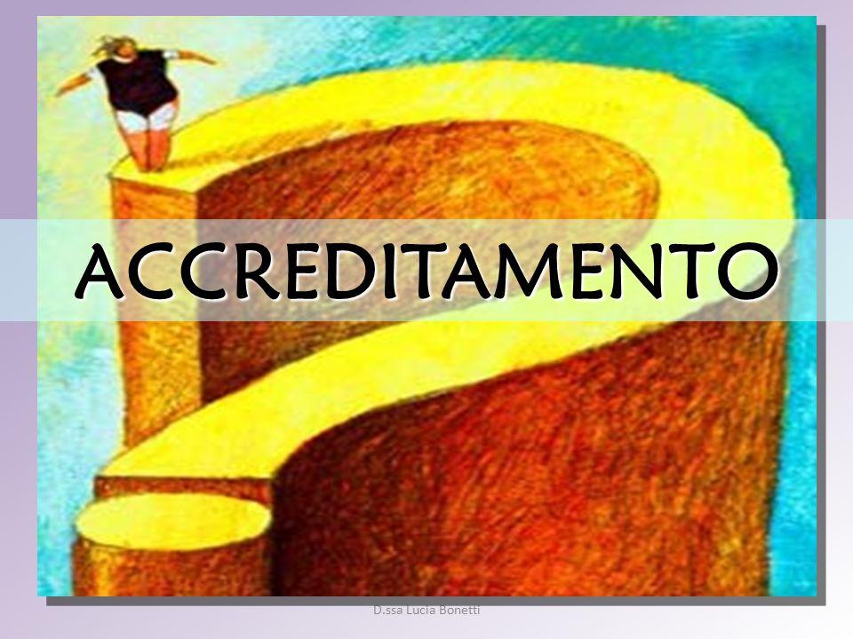 ACCREDITAMENTO D.ssa Lucia Bonetti