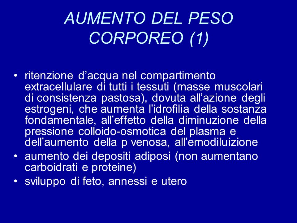 AUMENTO DEL PESO CORPOREO (1)