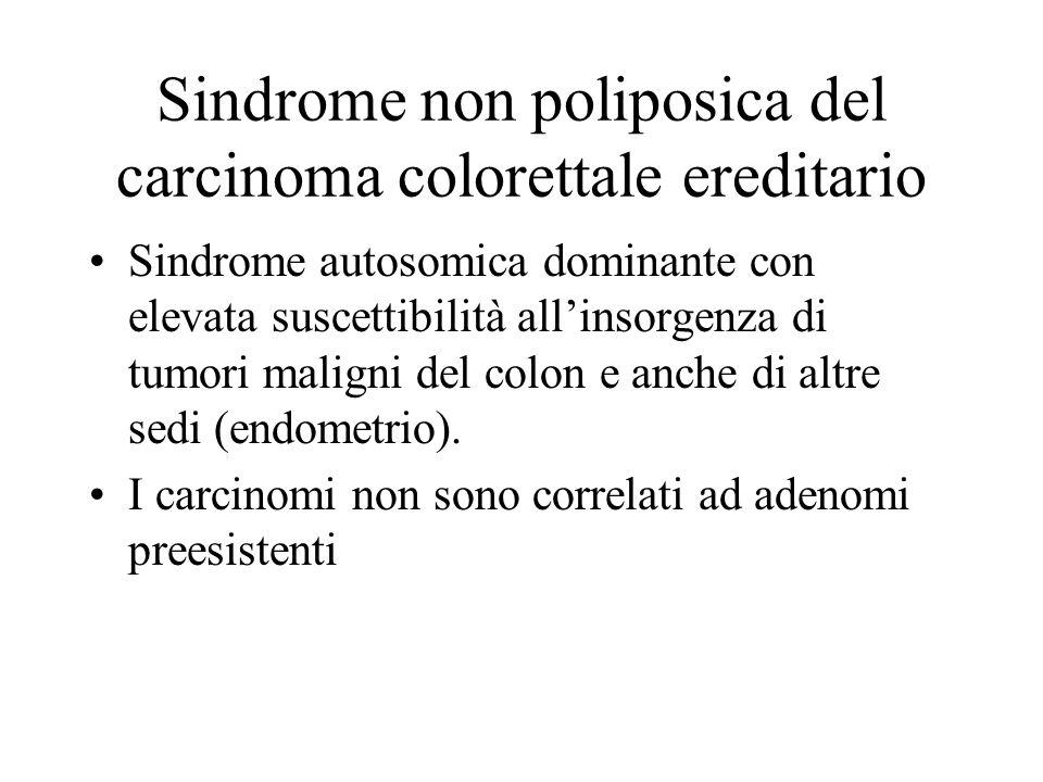 Sindrome non poliposica del carcinoma colorettale ereditario