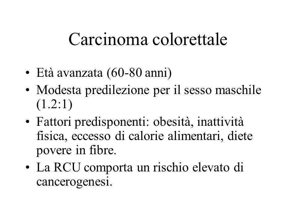 Carcinoma colorettale