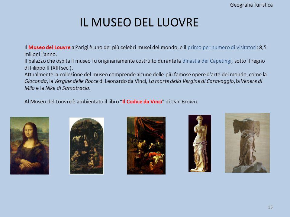 IL MUSEO DEL LUOVRE Geografia Turistica