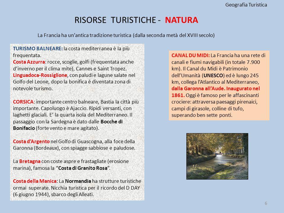 RISORSE TURISTICHE - NATURA
