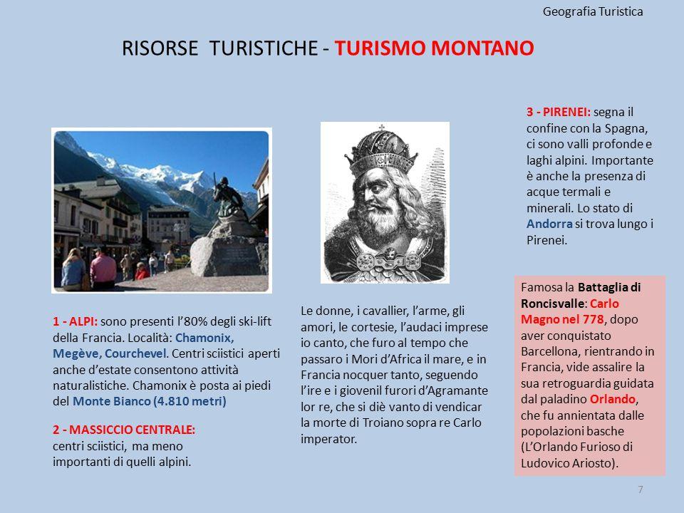 RISORSE TURISTICHE - TURISMO MONTANO