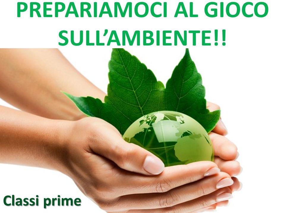 PREPARIAMOCI AL GIOCO SULL'AMBIENTE!!
