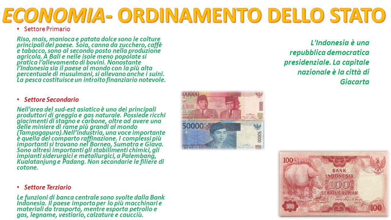 ECONOMIA- ORDINAMENTO DELLO STATO