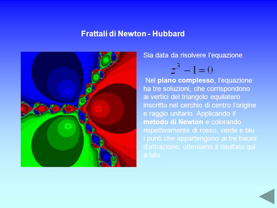 Frattali di Newton - Hubbard