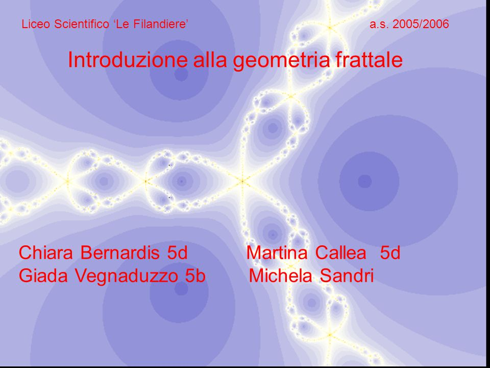 Introduzione alla geometria frattale