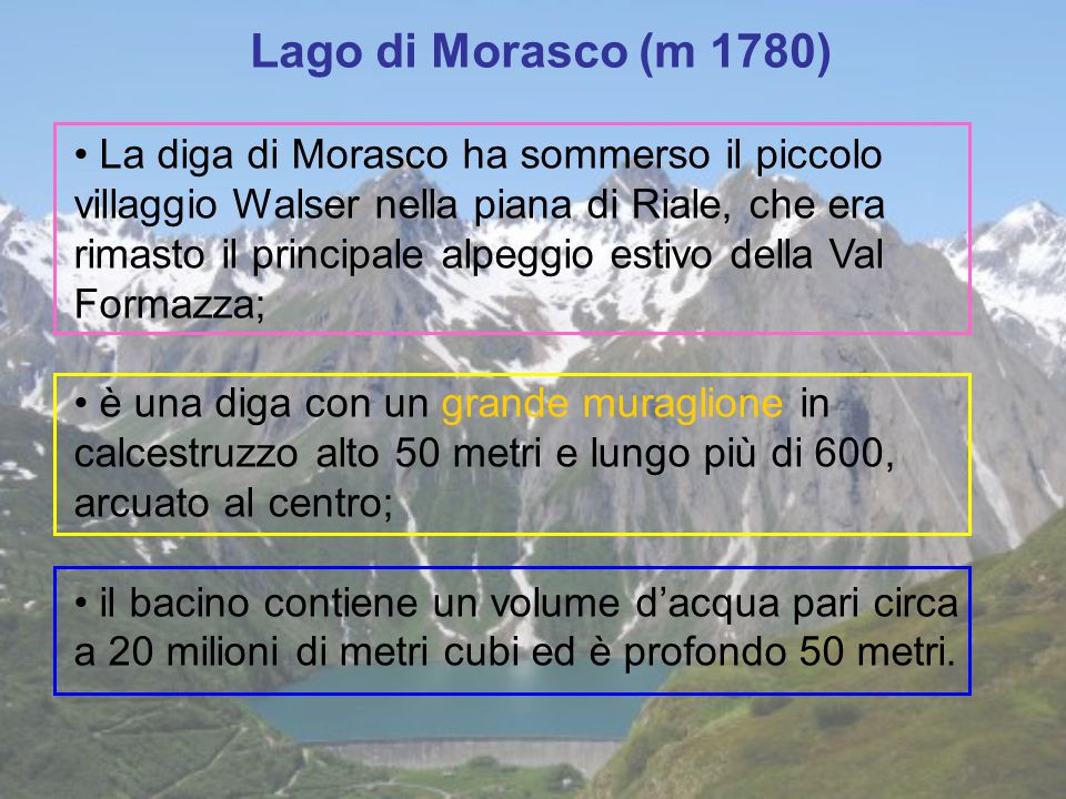 Lago di Morasco (m 1780)