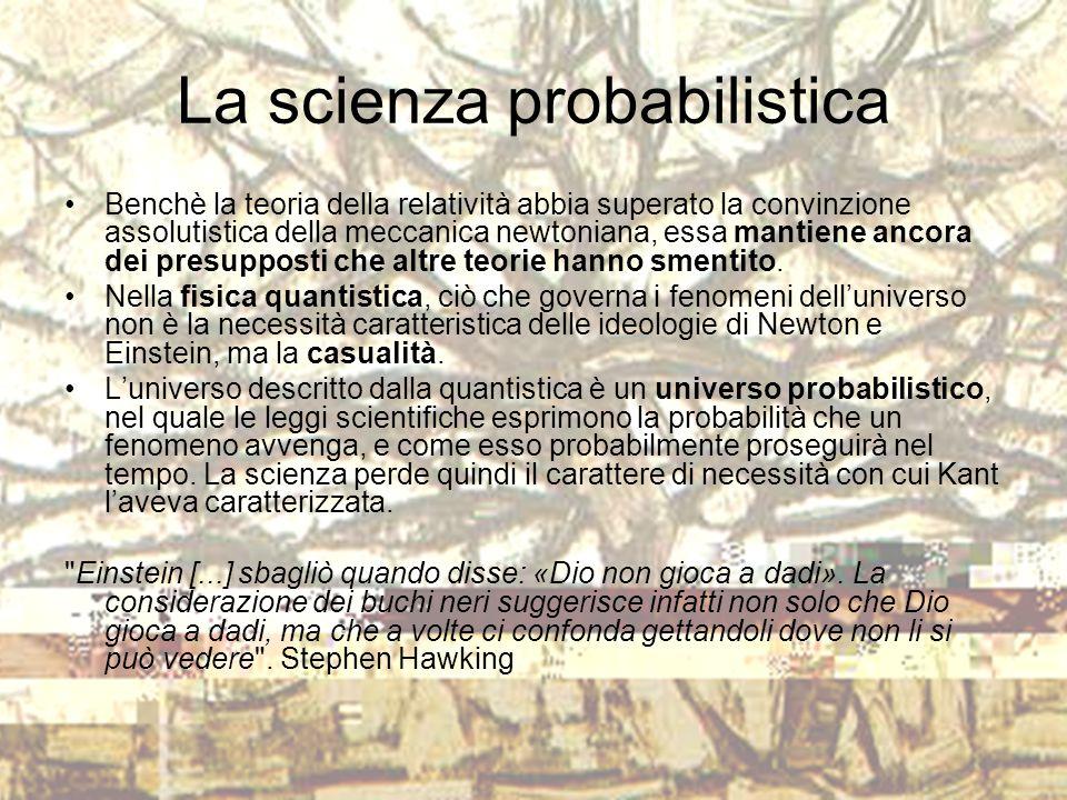 La scienza probabilistica