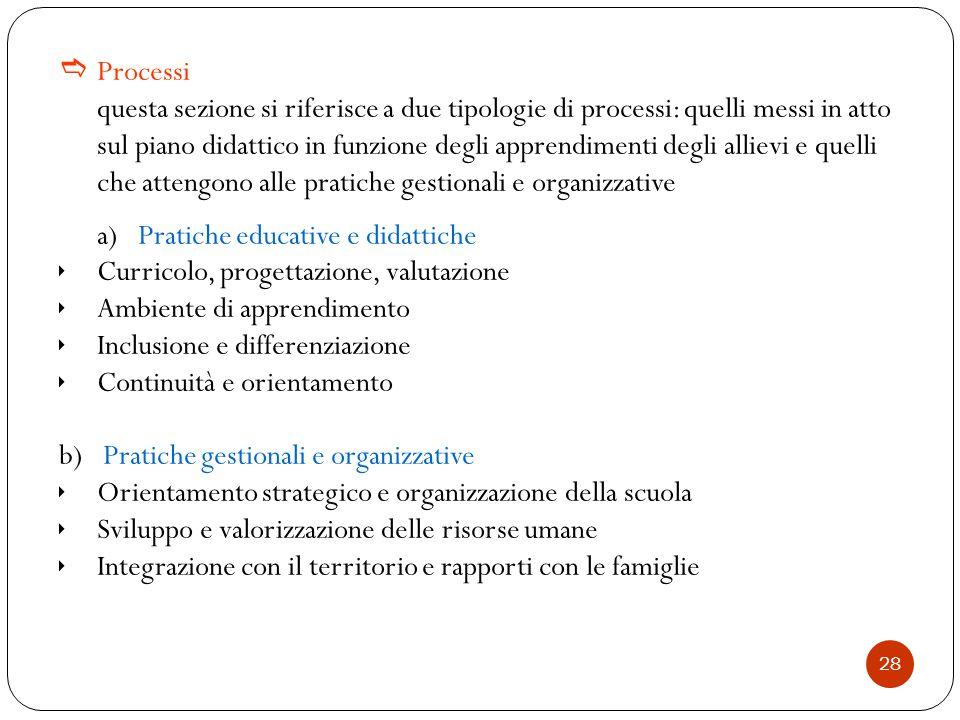 a) Pratiche educative e didattiche