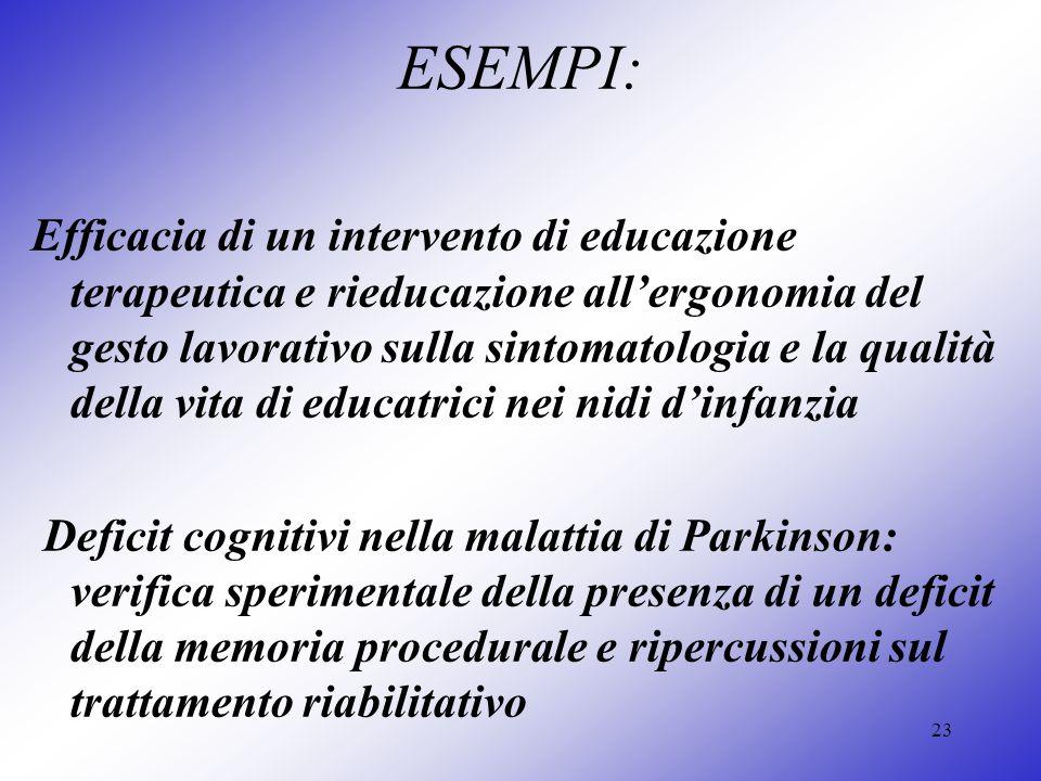 ESEMPI: