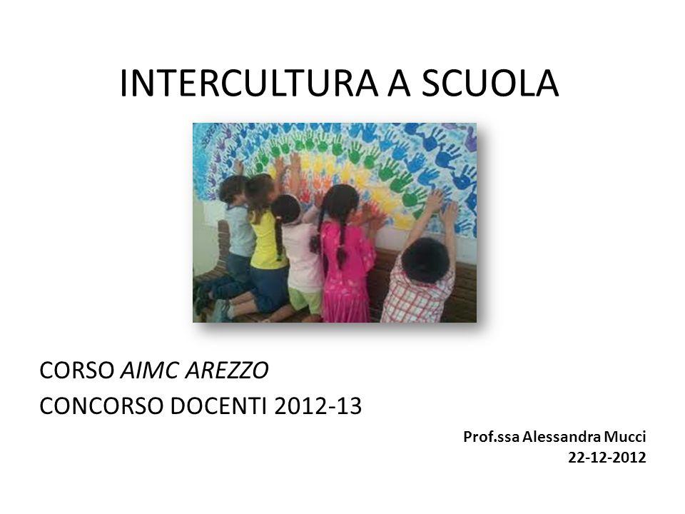 CORSO AIMC AREZZO CONCORSO DOCENTI 2012-13
