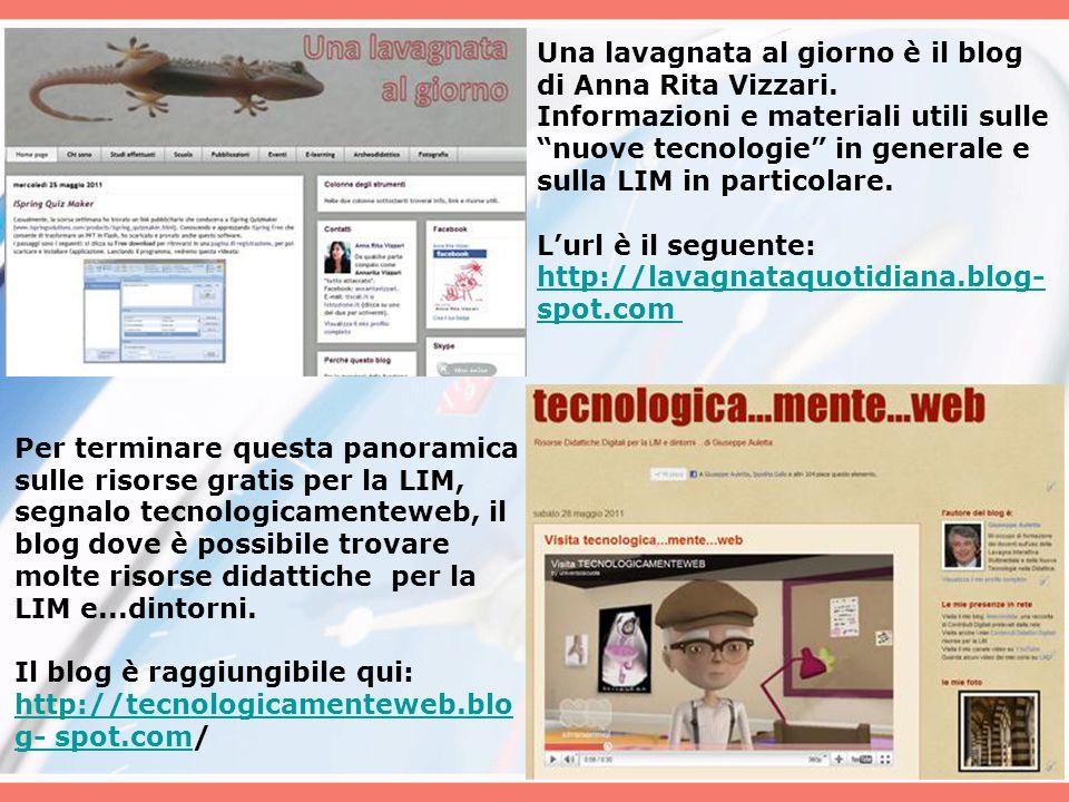 Una lavagnata al giorno è il blog di Anna Rita Vizzari.