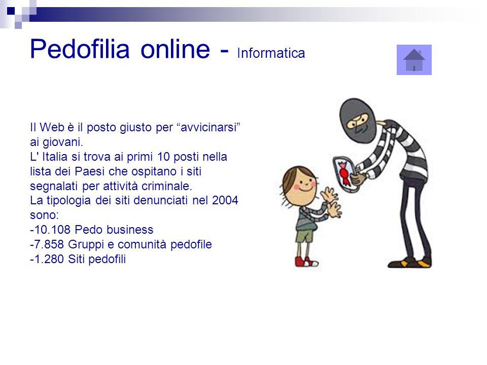 Pedofilia online - Informatica