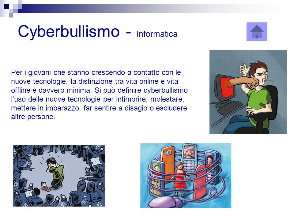 Cyberbullismo - Informatica
