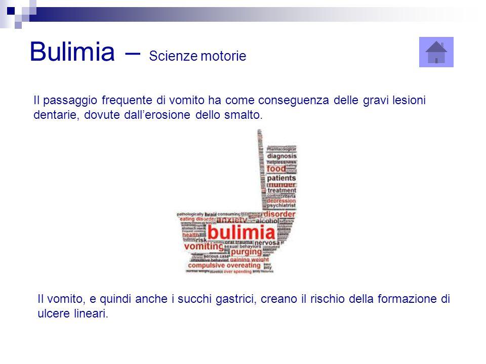 Bulimia – Scienze motorie