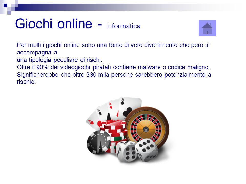 Giochi online - Informatica