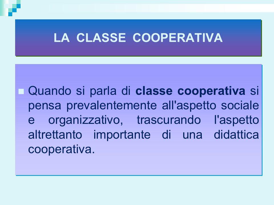 LA CLASSE COOPERATIVA