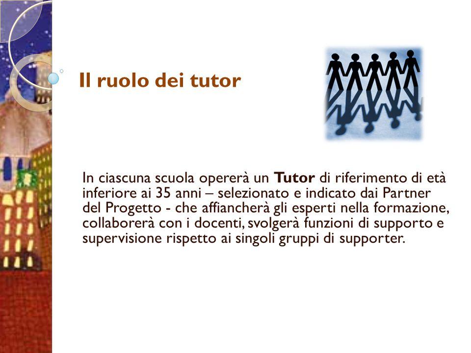 Il ruolo dei tutor