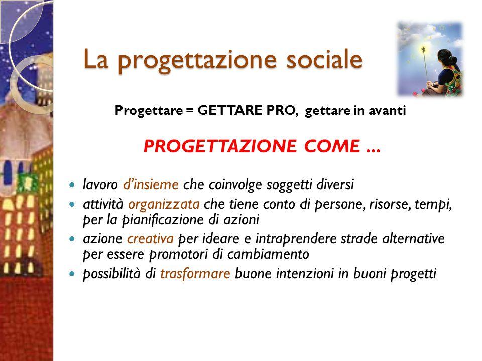 La progettazione sociale