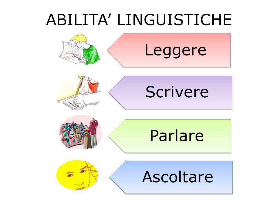ABILITA' LINGUISTICHE