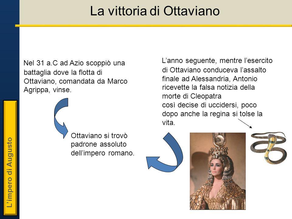La vittoria di Ottaviano