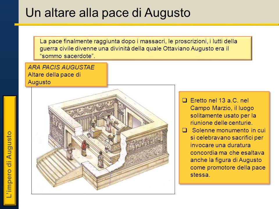 Un altare alla pace di Augusto