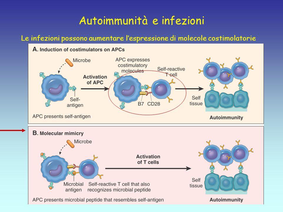 Autoimmunità e infezioni