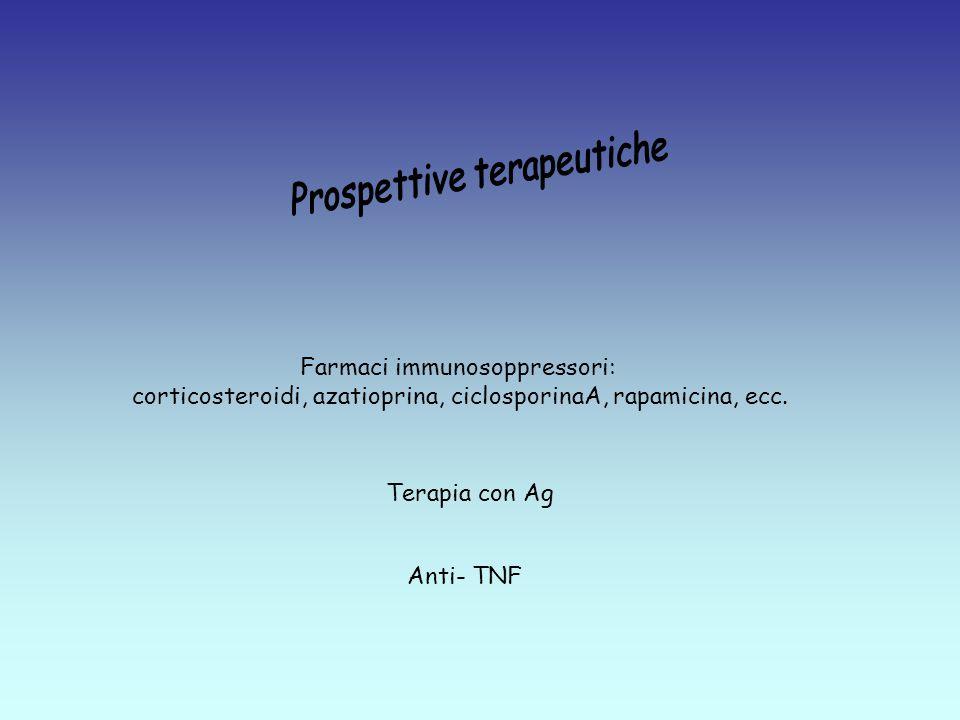 Prospettive terapeutiche