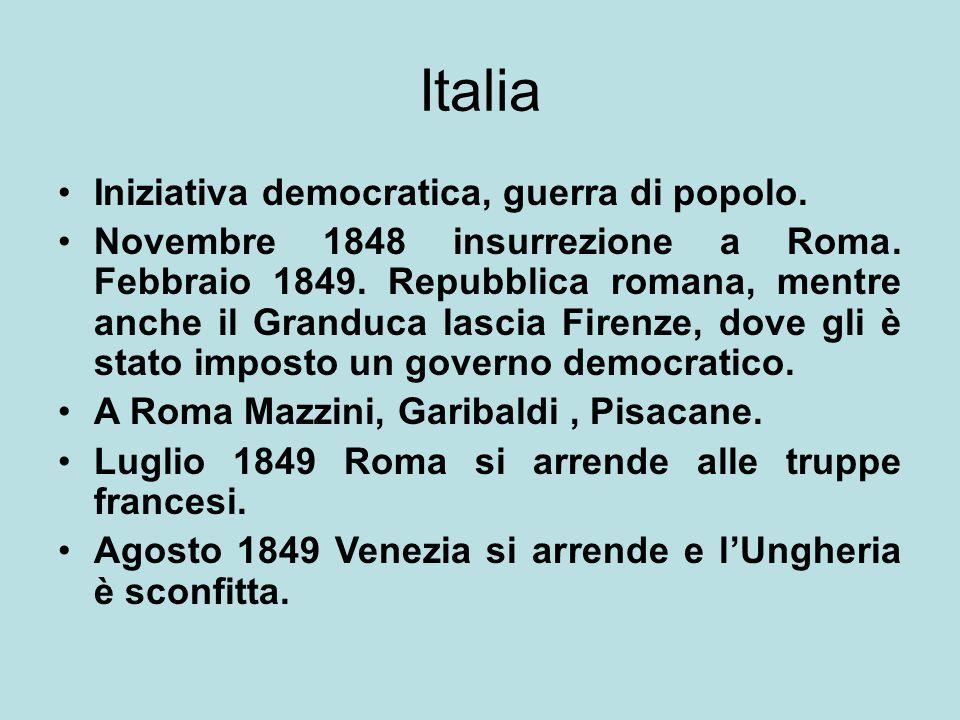 Italia Iniziativa democratica, guerra di popolo.