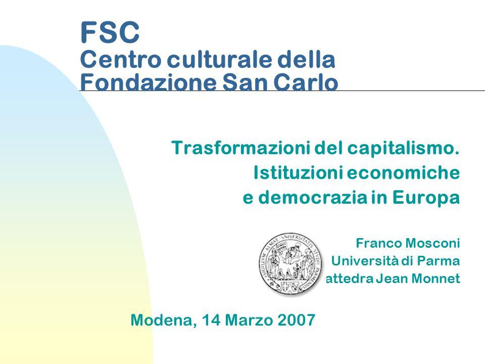 FSC Centro culturale della Fondazione San Carlo