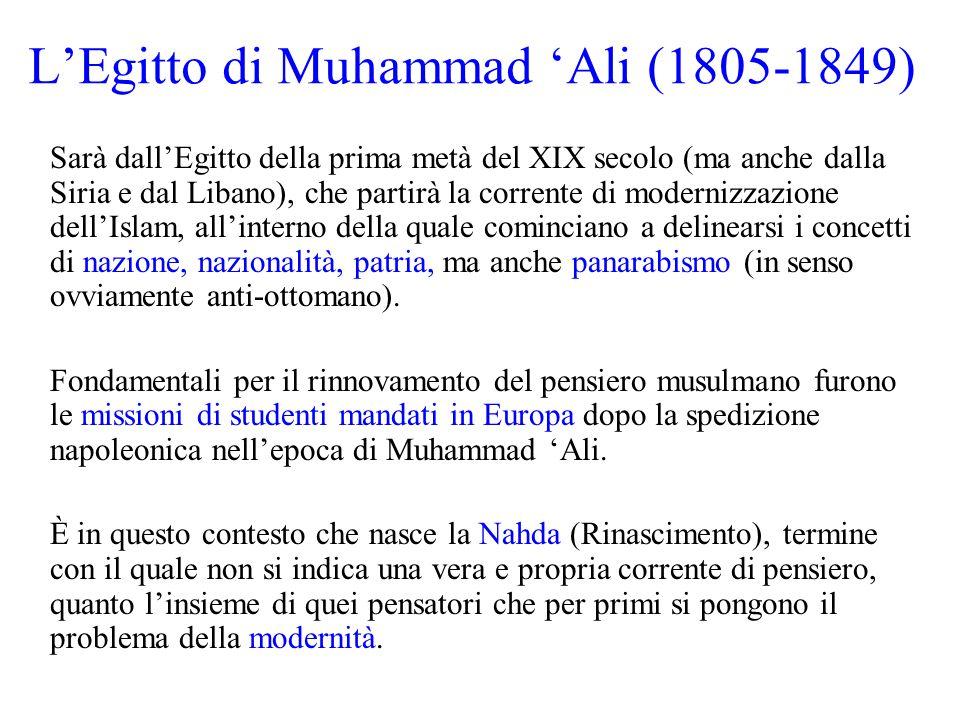 L'Egitto di Muhammad 'Ali (1805-1849)