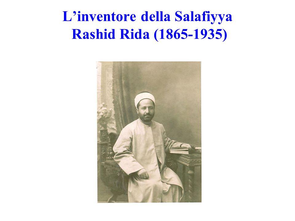 L'inventore della Salafiyya Rashid Rida (1865-1935)