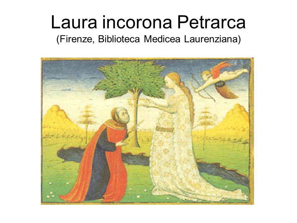 Laura incorona Petrarca (Firenze, Biblioteca Medicea Laurenziana)