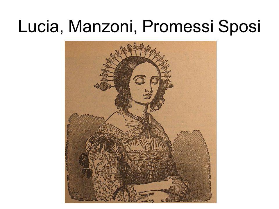Lucia, Manzoni, Promessi Sposi