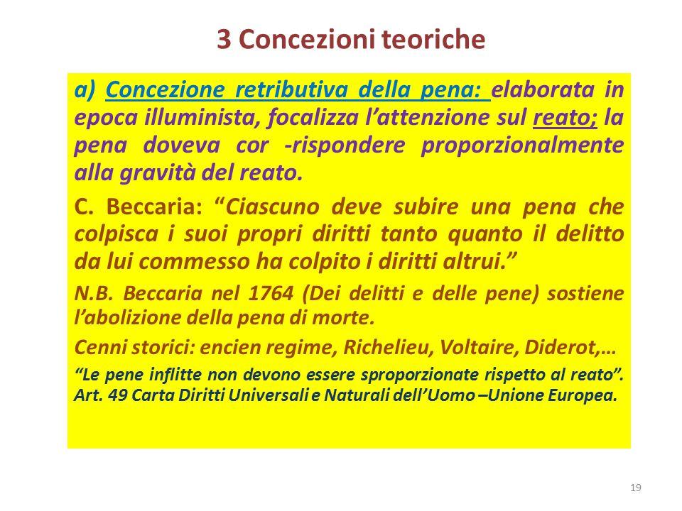 3 Concezioni teoriche