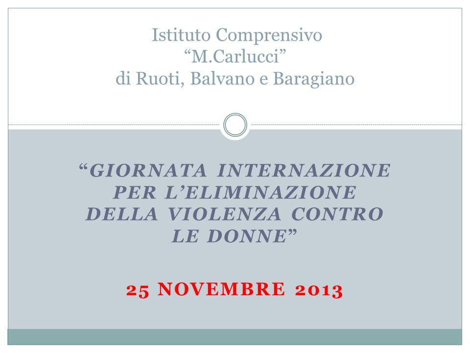 Istituto Comprensivo M.Carlucci di Ruoti, Balvano e Baragiano