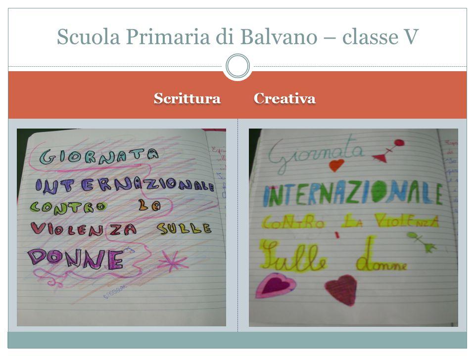 Scuola Primaria di Balvano – classe V