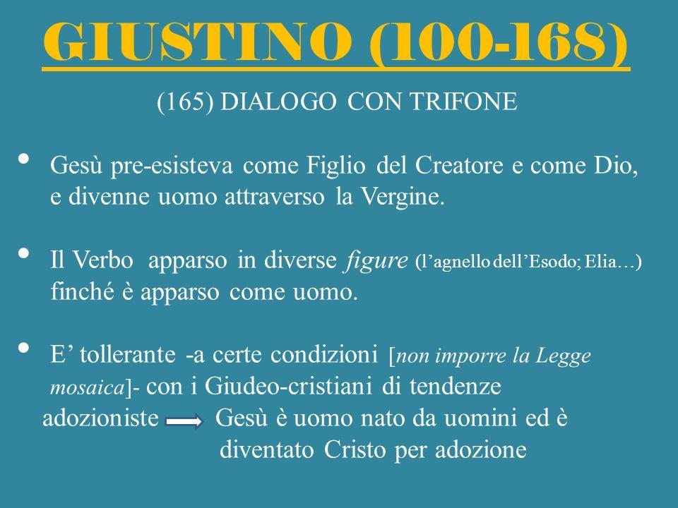 GIUSTINO (100-168) (165) DIALOGO CON TRIFONE