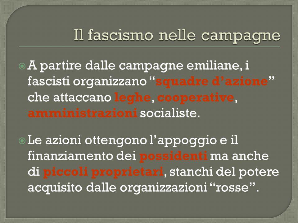 Il fascismo nelle campagne