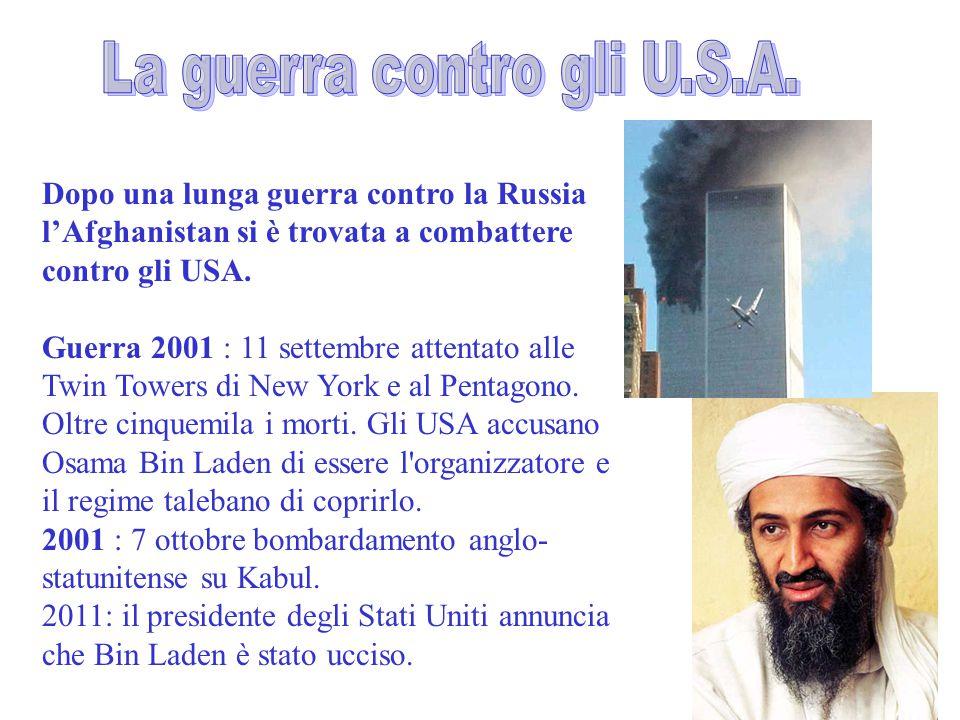 La guerra contro gli U.S.A.