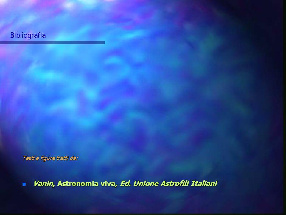 Vanin, Astronomia viva, Ed. Unione Astrofili Italiani