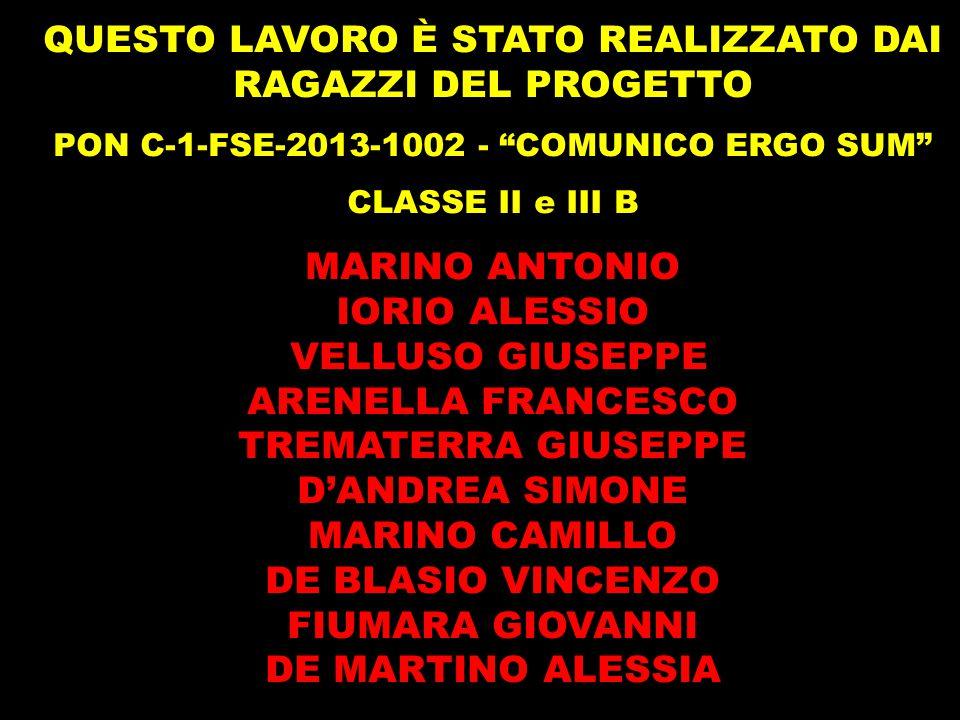 PON C-1-FSE-2013-1002 - COMUNICO ERGO SUM