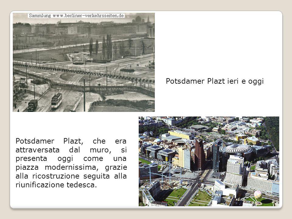 Potsdamer Plazt ieri e oggi