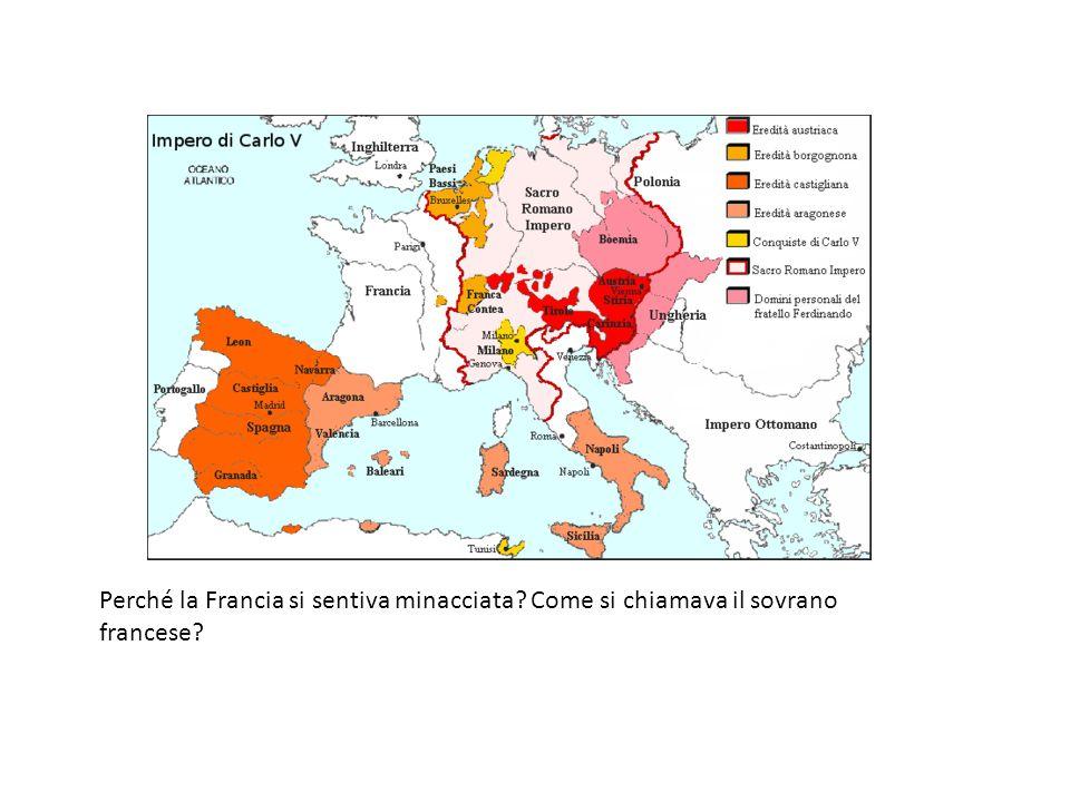 Perché la Francia si sentiva minacciata