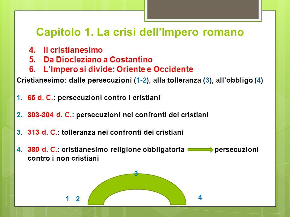 Capitolo 1. La crisi dell'Impero romano
