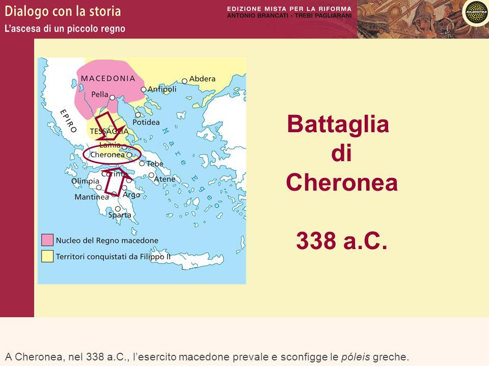 Battaglia di Cheronea 338 a.C.