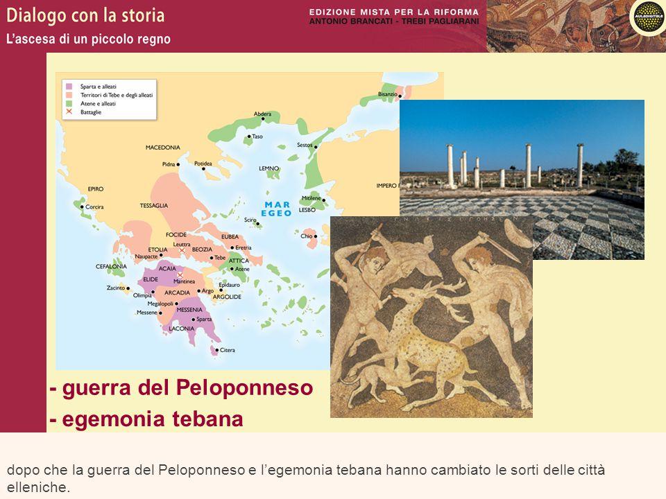 - guerra del Peloponneso - egemonia tebana