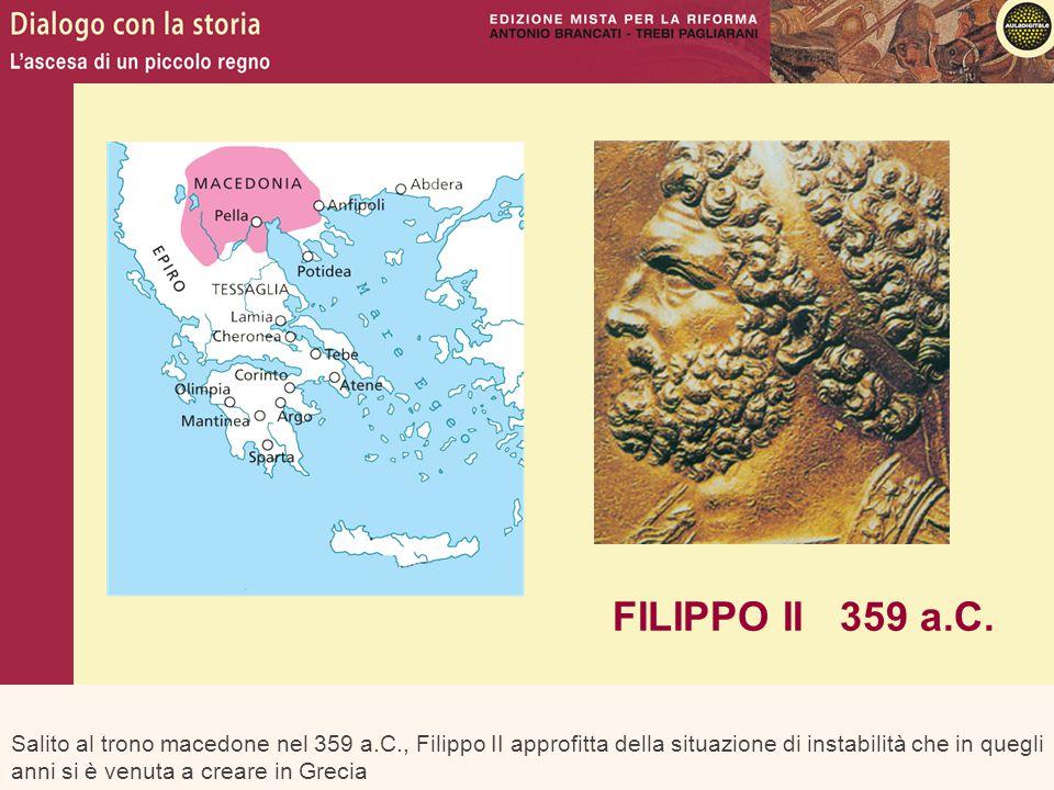 FILIPPO II 359 a.C.