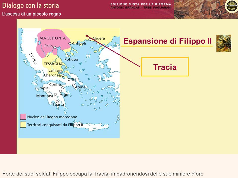 Espansione di Filippo II